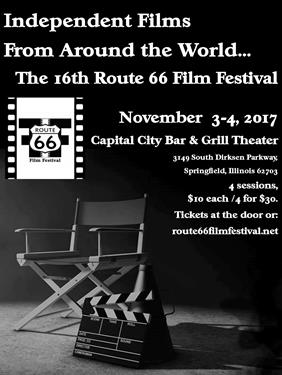 16th Annual Route 66 Film Festival Poster